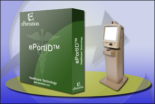 ePortId Product Image with Kiosk